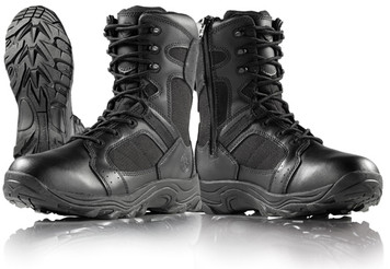 Smith and Wesson SW18 Tactical Boots with Side Zip Black