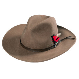 Thomas Cook Crushable Hat Made From Pure Wool Felt