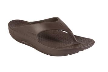 Telic Thongs - Flip Flops Womens Espresso Brown