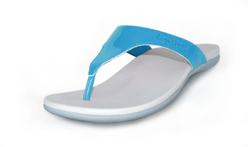 Lightfeet Charlie 2014 Shaped Thongs Sky Blue