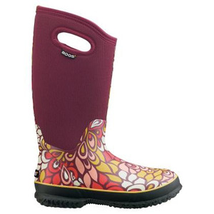 Waterproof insulated footwear boots gumboots shoes bogs for Bogs classic mid le jardin