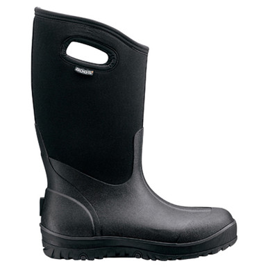 Bogs Ultra High Mens Insulated Gumboots In Black