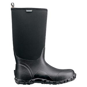 BOGS Classic High Insulated Waterproof Gumboots in Black