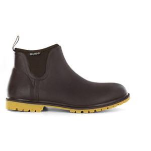 BOGS Carson Insulated Waterproof Urban Gumboots in Coffee