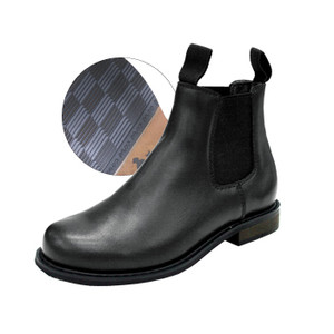 Thomas Cook Youth Dress Style Boots Clubber Black Leather