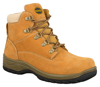 Oliver Boots 49-432 Women's Ankle Height Lace Up Safety Boots in Wheat