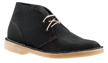 Rossi Sahara Desert Boots 4012 in Black Leather