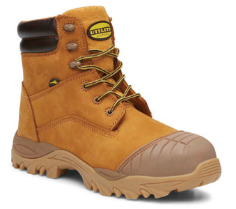 Diadora Craze - Airport Friendly Wheat Water Resistant Leather Safety Boots with Composite Toe Cap and Nitrile Sole