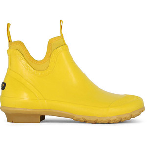 Bogs Harper Yellow Low Garden Boots With Insulation and Steel Shank