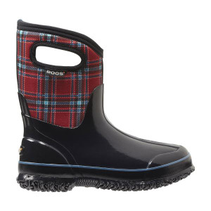 Bogs Winter Plaid Mid Height Women's Insulated Gumboots