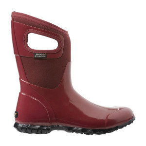 Bogs Nth Hampton Mid Height Insulated Gumboots in Red