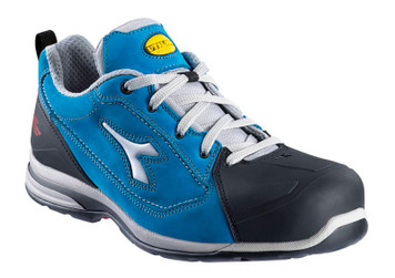 Diadora Utility Jet Breathable Safety Shoes with Aluminium Toe Cap, Blue
