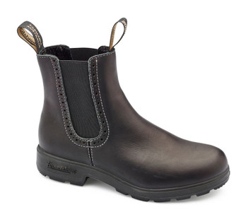 Blundstone Urban 1448 Hi Top Leather Lined European Styled Voltan Black Leather Boots