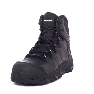 Mack Boots Octane Composite Toe Lace Up Work Boots Black