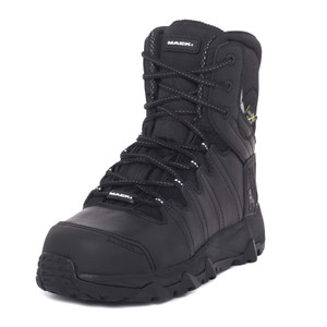 Mack Boots Granite II Composite Toe Impact and Penetration Resistant Work Boots in Black