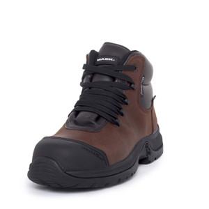 Mack Boots Zero II Waterproof Lightweight Composite Toe Lace Up Work Boots Rocky Brown