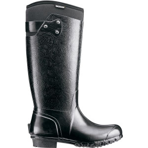 BOGS Rider Womens Insulated Gumboots in Black
