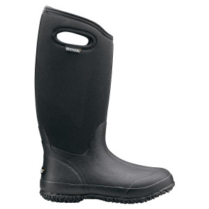 BOGS Classic High Womens Insulated Gumboots in Black
