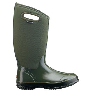 BOGS Classic High Handles Womens Insulated Gumboots in Green