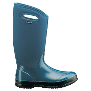 BOGS Classic High Handles Womens Insulated Gumboots in Blue