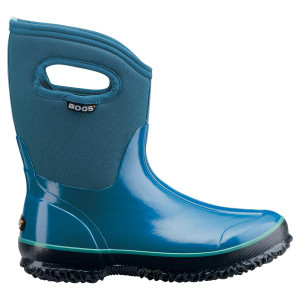 BOGS Classic Mid Handles Womens Insulated Gumboots in Blue