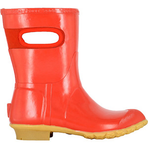 BOGS Frankie Mid Handles Womens Lightly Insulated Gumboots in Red