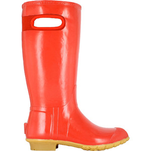 BOGS Frankie Tall Handles Womens Lightly Insulated Gumboots in Red