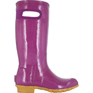 BOGS Frankie Tall Handles Womens Lightly Insulated Gumboots in Plum