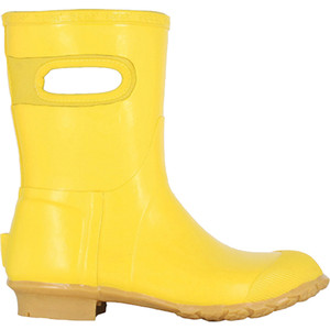 BOGS Frankie Mid Handles Womens Lightly Insulated Gumboots in Yellow