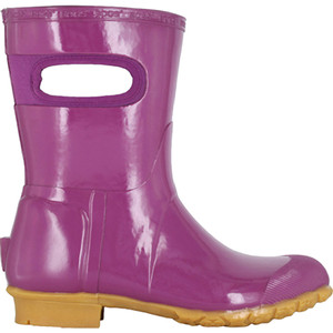 BOGS Frankie Mid Handles Womens Lightly Insulated Gumboots in Plum