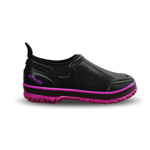 Otway Stroller Insulated Ladies Waterproof Shoes in Black and Purple