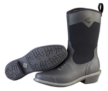 Muck Boots Ryder II Womens Insulated Waterproof Slip Resistant Riding Boots in Black