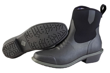 Muck Boots Juliet Womens Insulated Waterproof Slip Resistant Riding Boots in Black