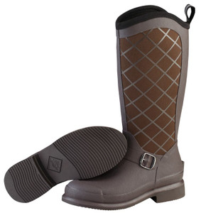 Muck Boots Pacy II Womens Insulated Waterproof Slip Resistant Riding Boots in Chocolate