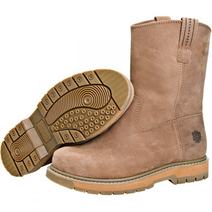 Muck Boots Wellie Classic Waterproof Cushioned Work Boots Brown
