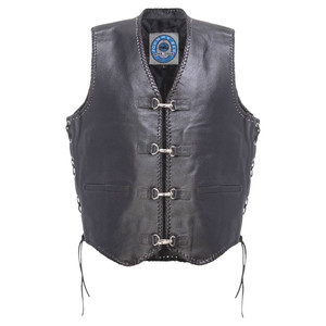 Johnny Reb Capricorn Leather Vest