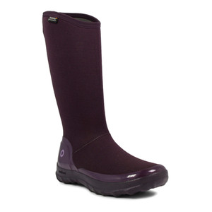 BOGS Kettering Womens Insulated Gumboots in Plum