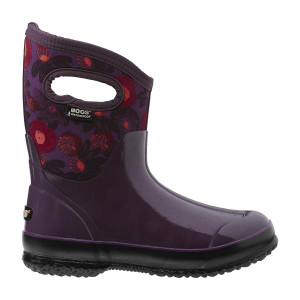 BOGS Watercolour Mid Womens Insulated Waterproof Boots in Plum