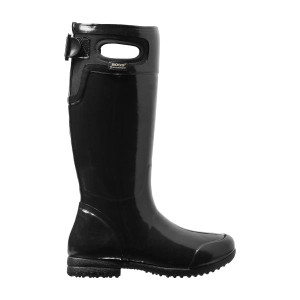 BOGS Tacoma Equestrian Styled Womens Insulated Gumboots in Black