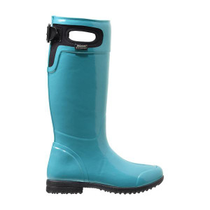 BOGS Tacoma Equestrian Styled Womens Insulated Gumboots in Teal