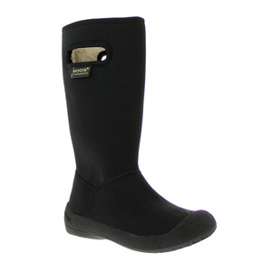 BOGS Summit Solid Super Soft Insulated Waterproof Gumboots in Black