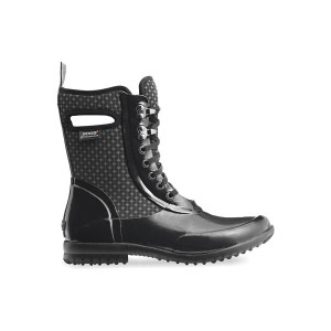 BOGS Sidney Cravat Lace Up Insulated Waterproof Boots For Women in Black Multi