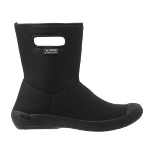 BOGS Summit Mid Super Soft Insulated Waterproof Gumboots in Black