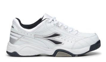 Diadora Speed Trainer Mens Sports Shoe Wht Navy