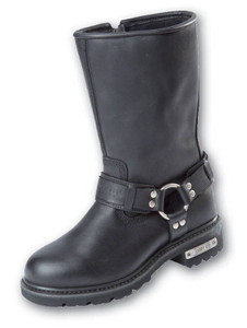 Johnny Reb Rogue Zip Up Motorcycle Boot