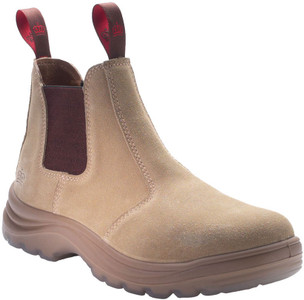 KingGee Flinders Suede Leather Safety Work Boots