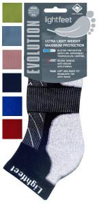 Lightfeet Evolution Cushioned Sports Socks 6 Pack