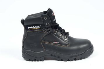 Mack Boots Bulldog Q Steel Toe Work Boots Black