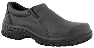 Oliver Boots 49-430 Ladies Slip-on Shoe with Steel Toe Cap