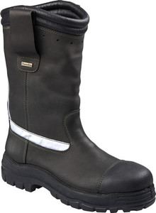 "Oliver Boots HS25-396  250mm (10"") Pull On Turnout Firefighters Boot"